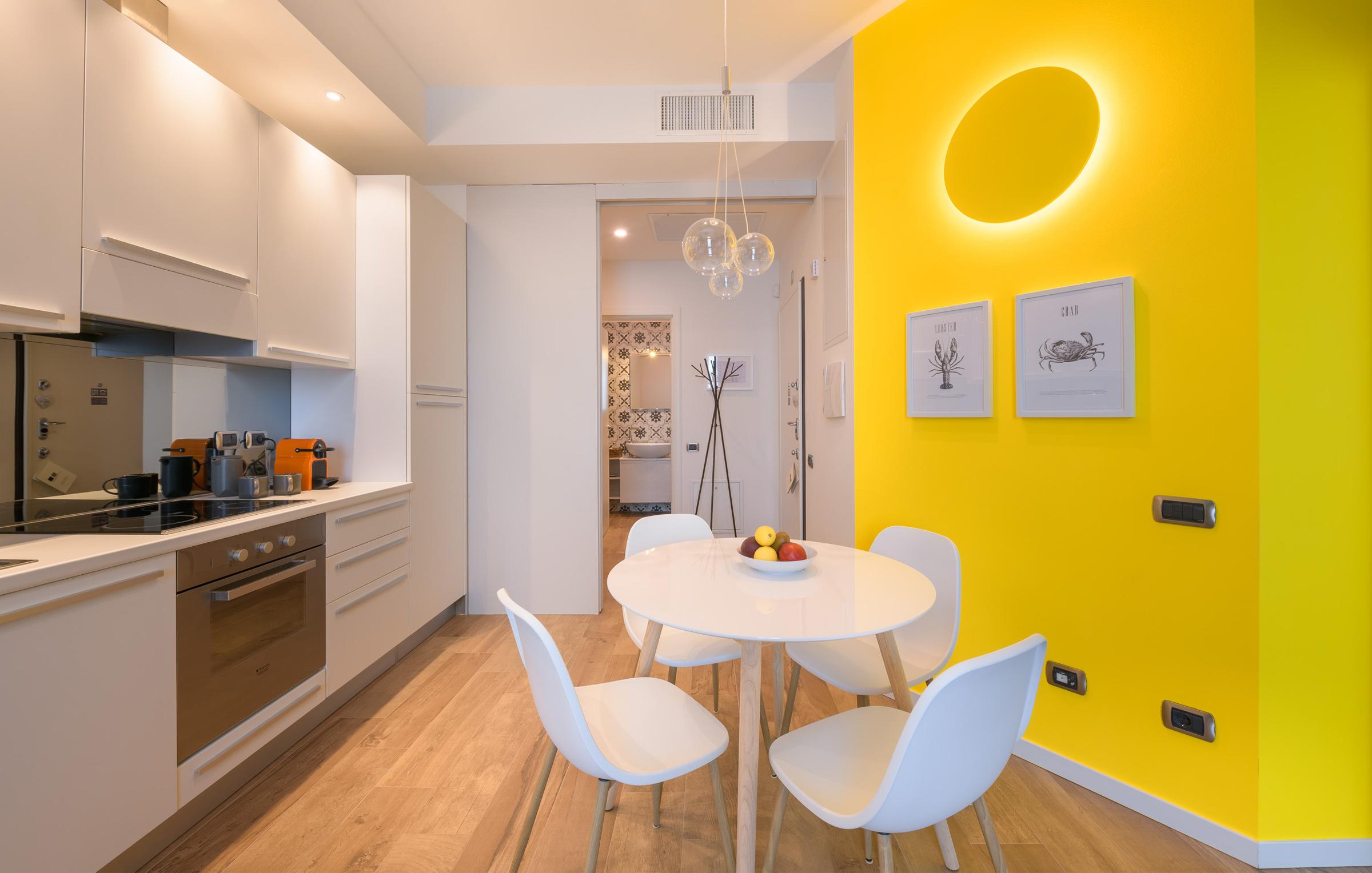 Un bilocale luxury in affitto a Milano