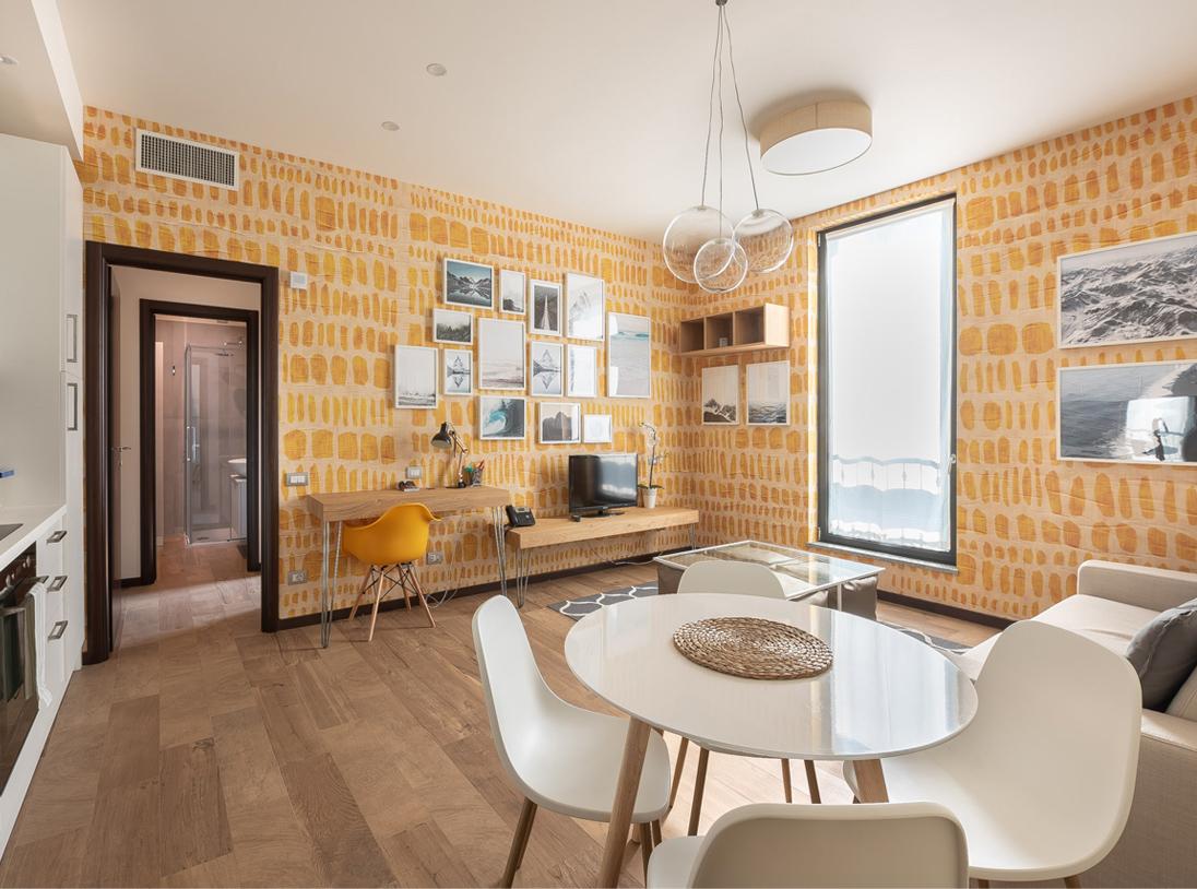Homepage residenza porta volta for Appartamenti arredati milano