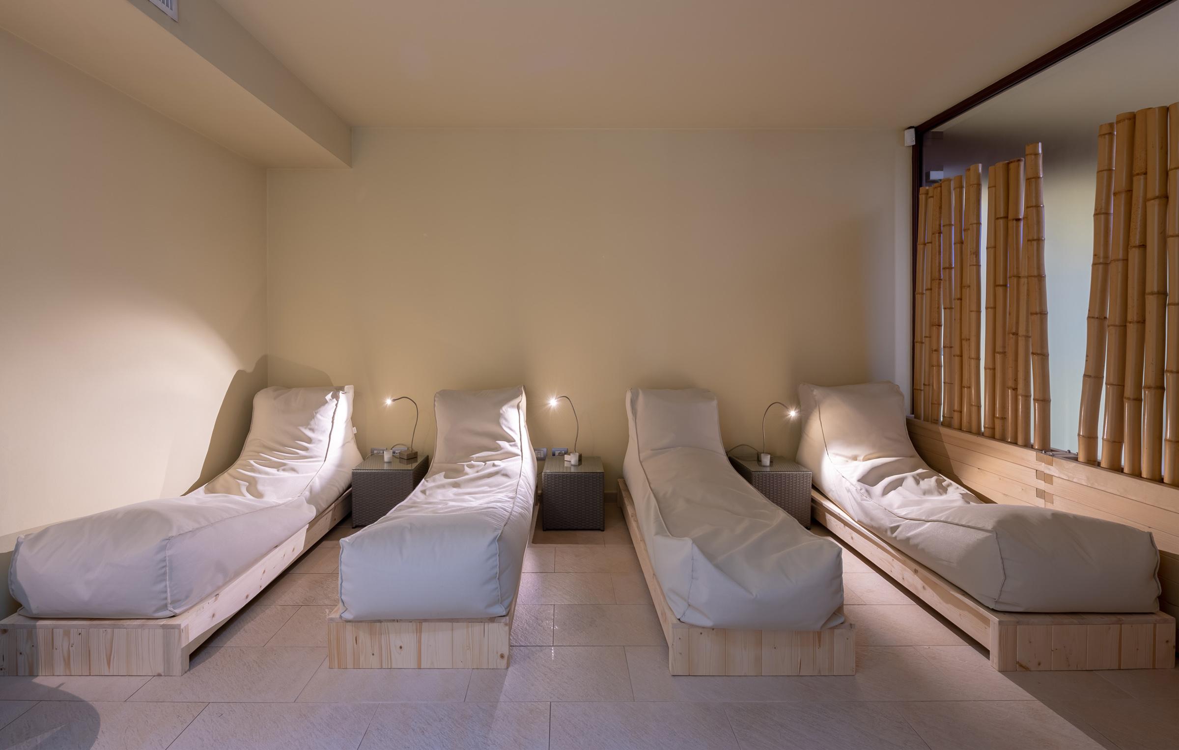 zona relax con tisaneria