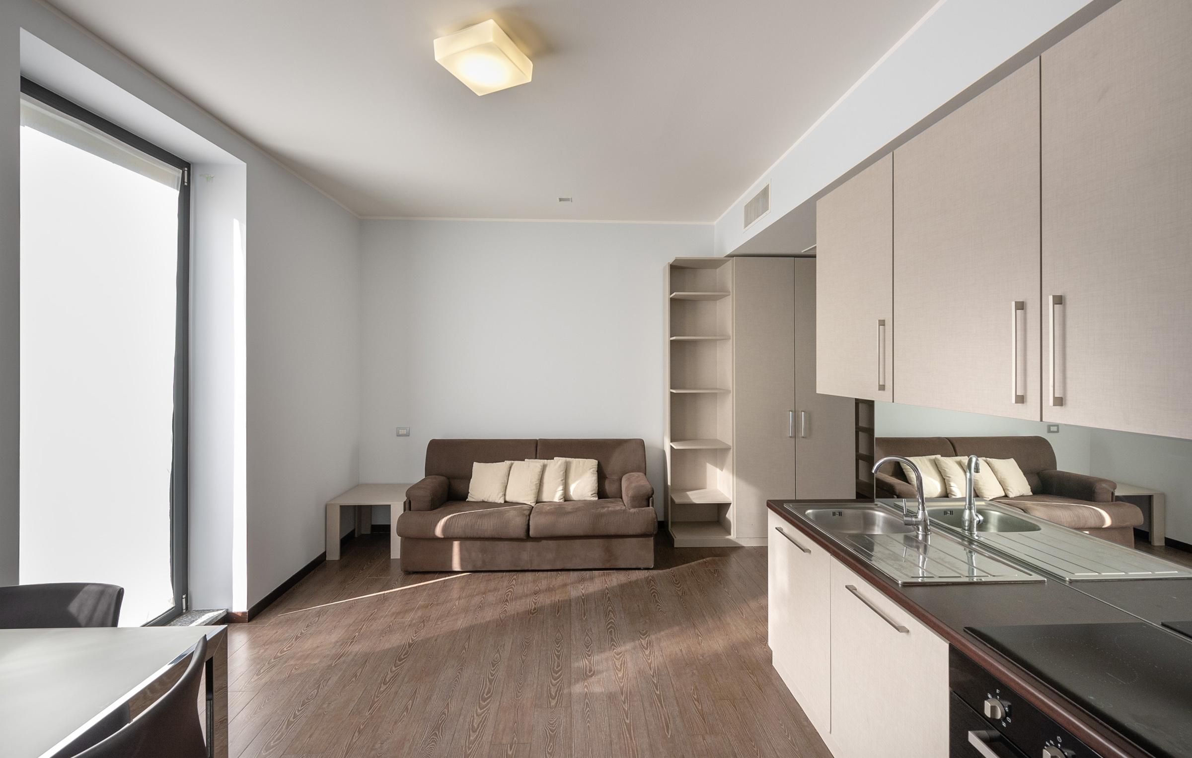 I trilocali con terrazzo di Residenza Porta Volta a Milano accomodano fino a 5 adulti