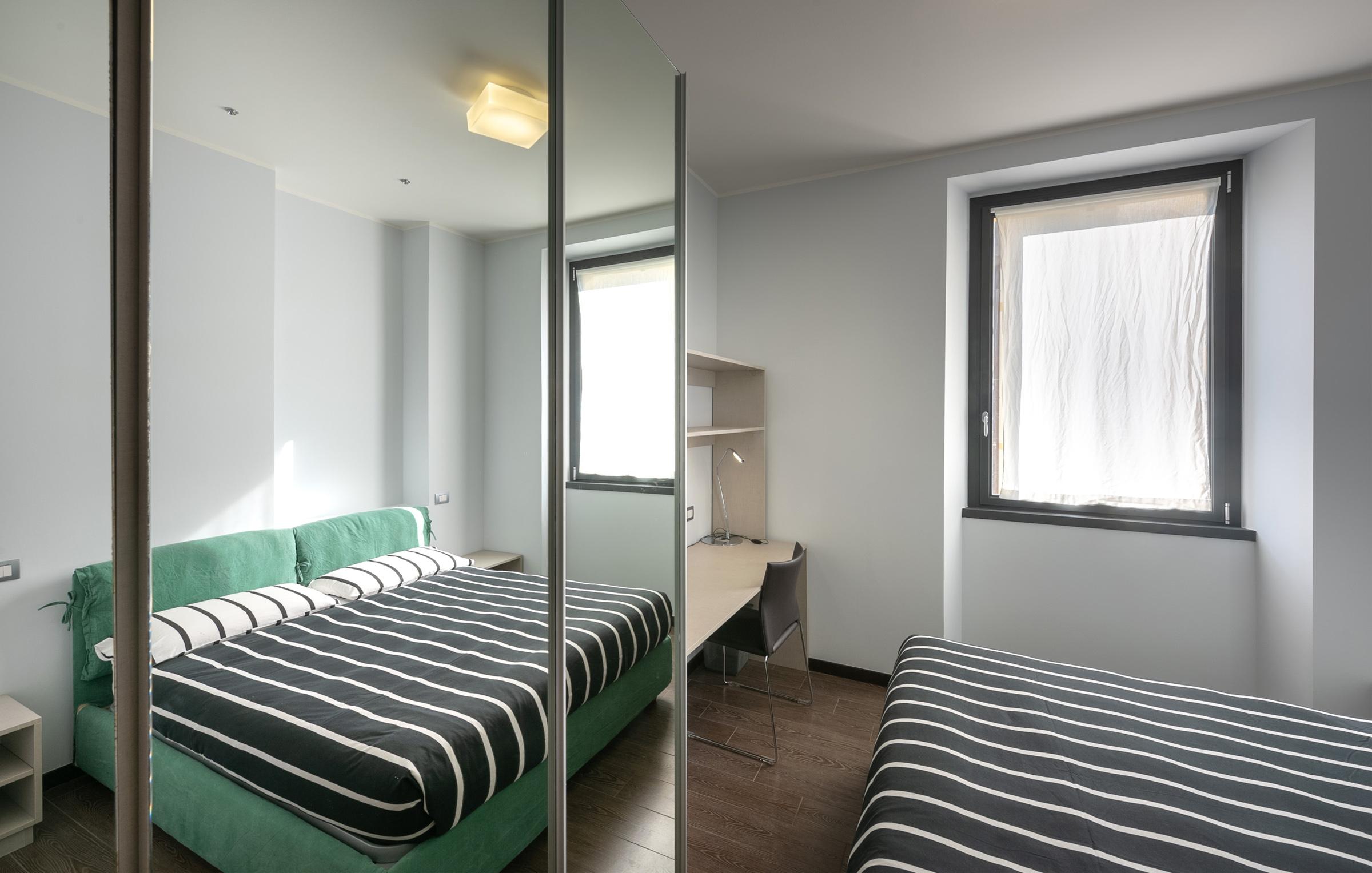 L'affitto dell'appartamento a Milano include la biancheria da letto e da bagno