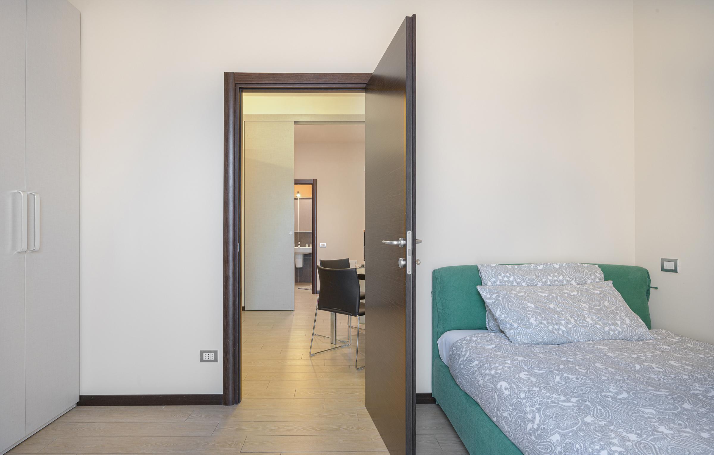 Gli appartamenti a Milano di Residenza Porta Volta hanno vista su Milano