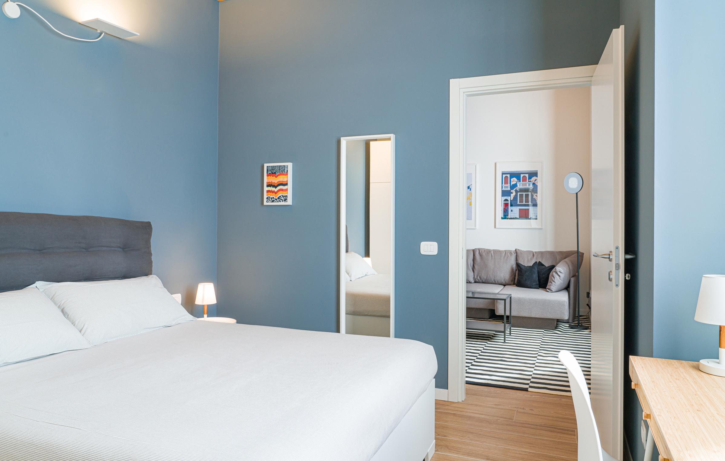 L'affitto dell'appartamento a Residenza Dergano include la biancheria da letto e da bagno